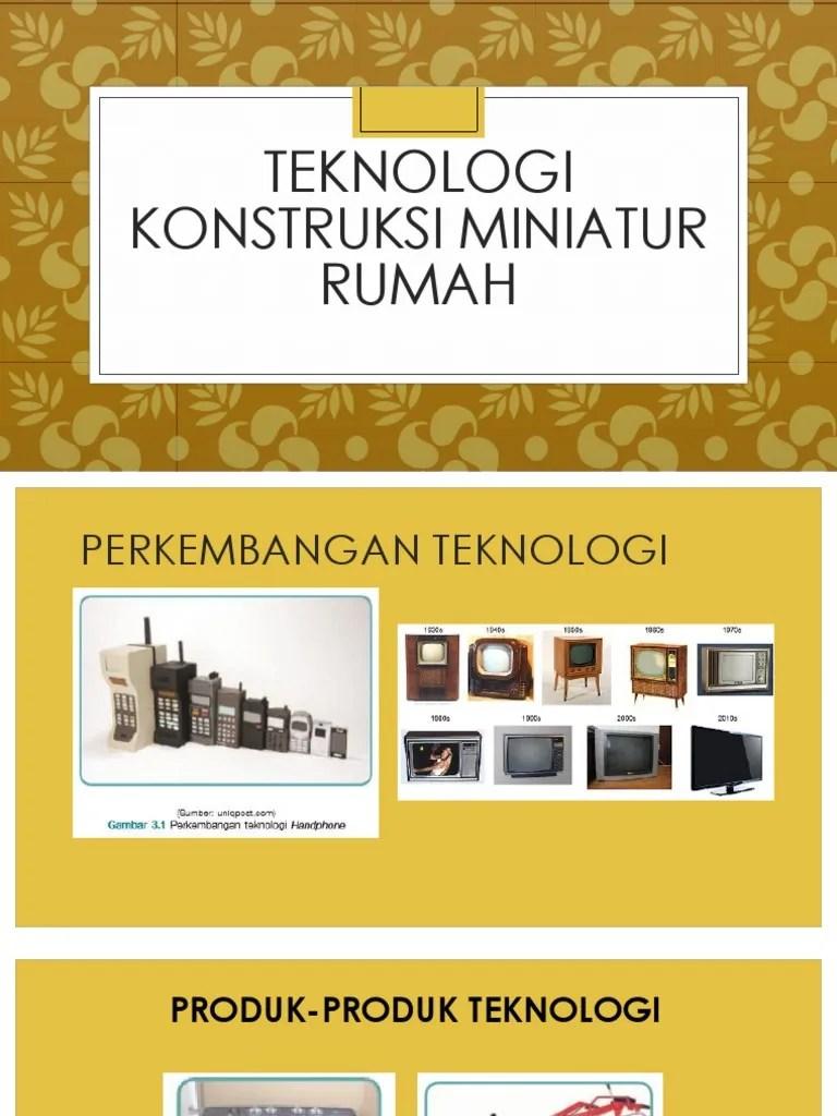 Teknologi Konstruksi Miniatur Rumah : teknologi, konstruksi, miniatur, rumah, Teknologi, Konstruksi, Miniatur, Rumah