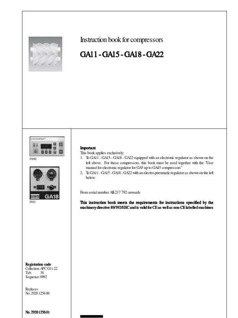 hight resolution of atla copco ga22 wiring diagram