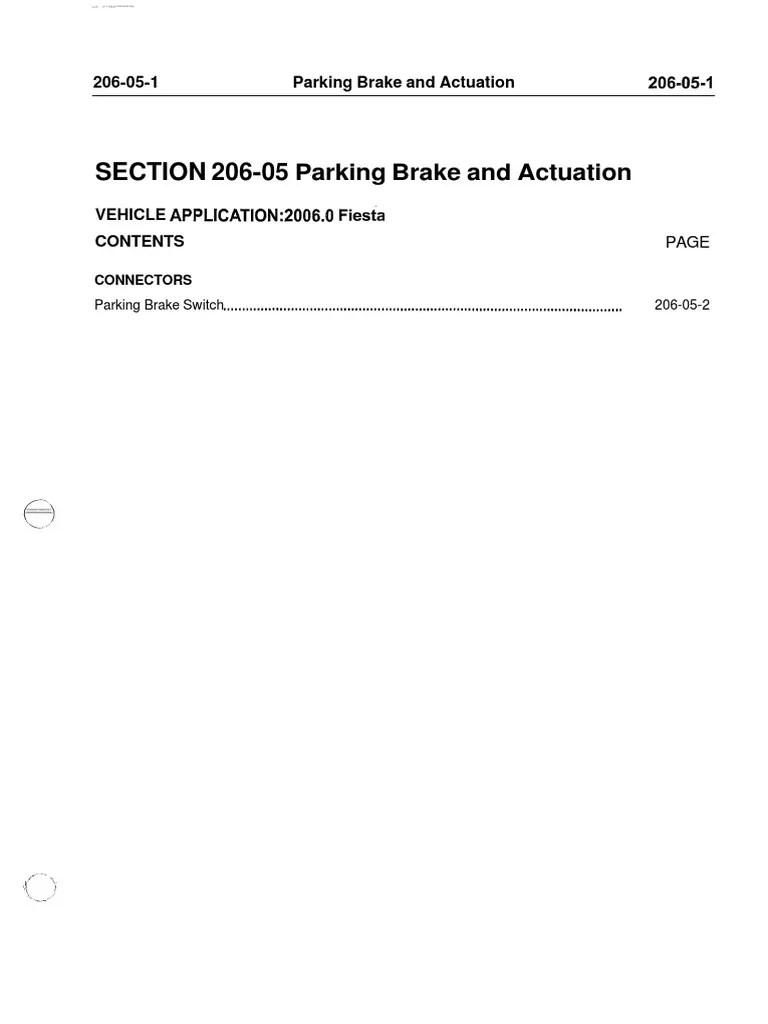 2002 2008 ford fiesta repair manual part 2 diagnostic electrical anti lock braking system fuel injection [ 768 x 1024 Pixel ]