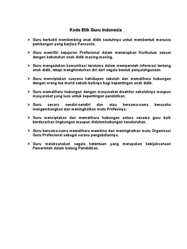 Tata Tertib Guru Indonesia : tertib, indonesia, Etik,, Ikrar, Guru,, Tertib, Alokasi, Waktu,, Pembiasaan