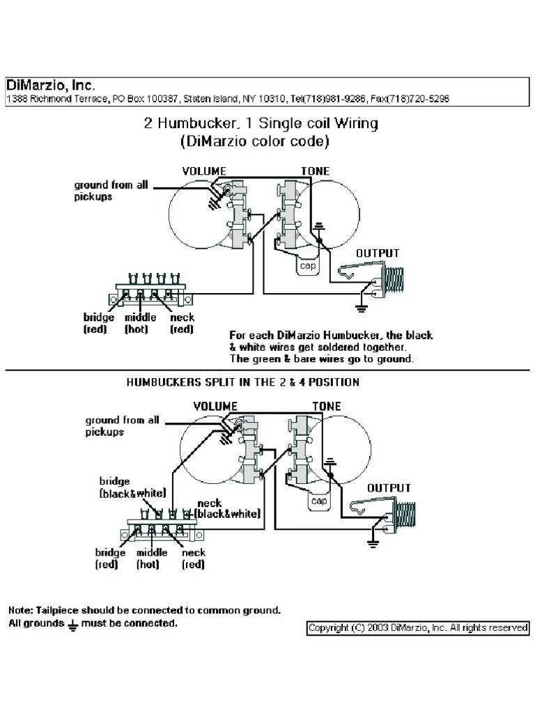 dimarzio wiring code [ 768 x 1024 Pixel ]