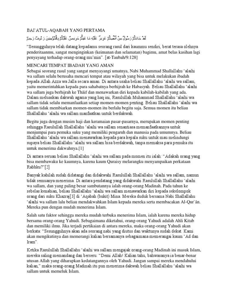 Baiatul Aqabah : baiatul, aqabah, Bukit, Aqabah