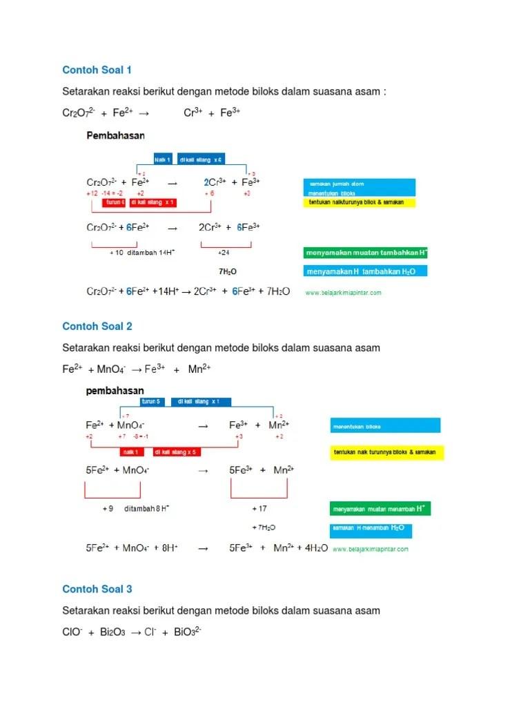 Perbedaan Antara Metode Angka Oksidasi dan Metode Setengah