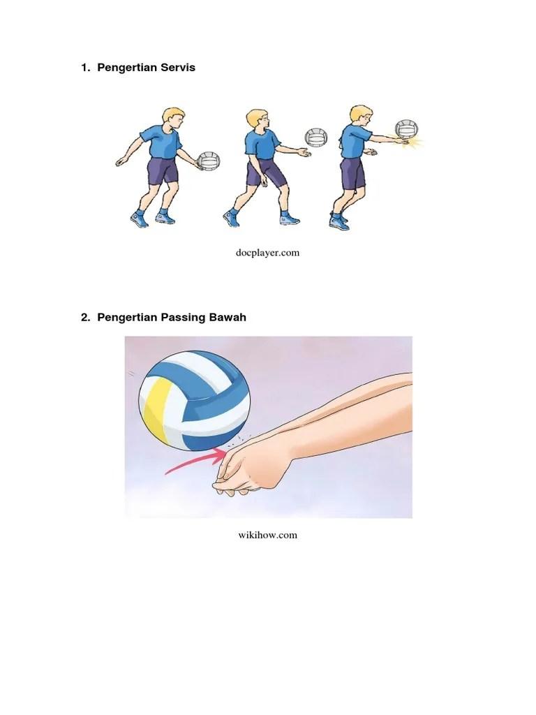 Apa Pengertian Passing : pengertian, passing, Pengertian, Servis.docx