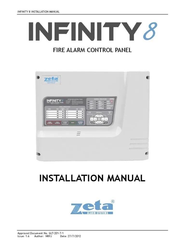 fire alarm control panel 8 infinity [ 768 x 1024 Pixel ]