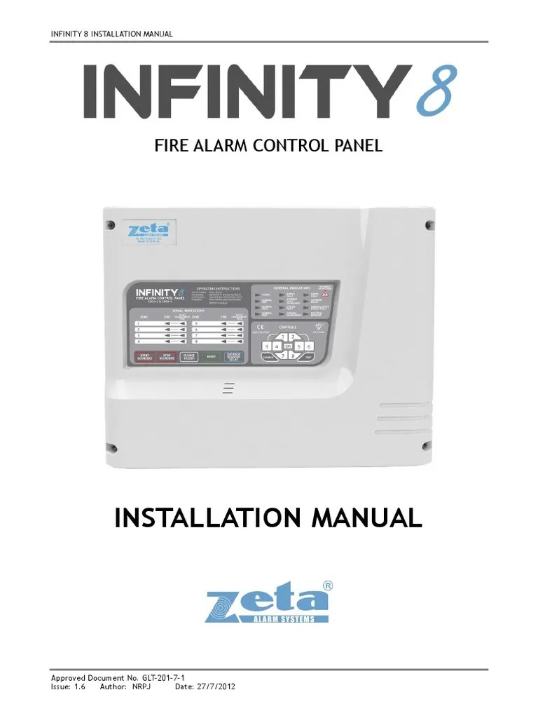 hight resolution of fire alarm control panel 8 infinity