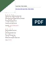 Chord Puisi Adinda : chord, puisi, adinda, Chord, Gitar, Lirik, Yovie, Janji