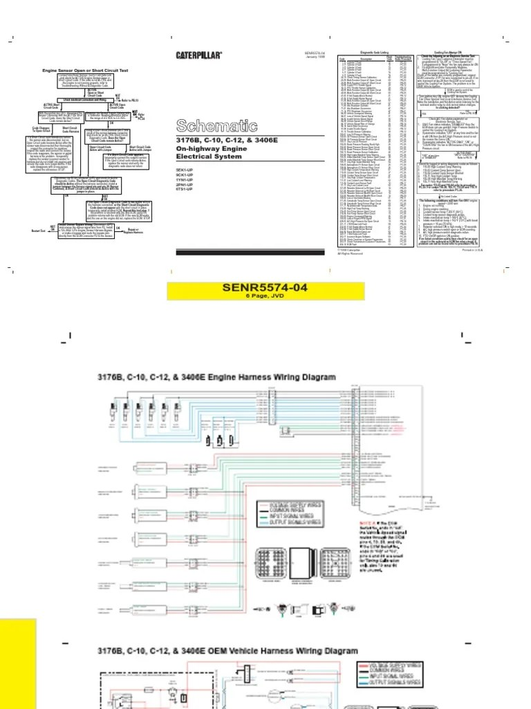 3406e engine fan wiring diagram turbocharger design [ 768 x 1024 Pixel ]