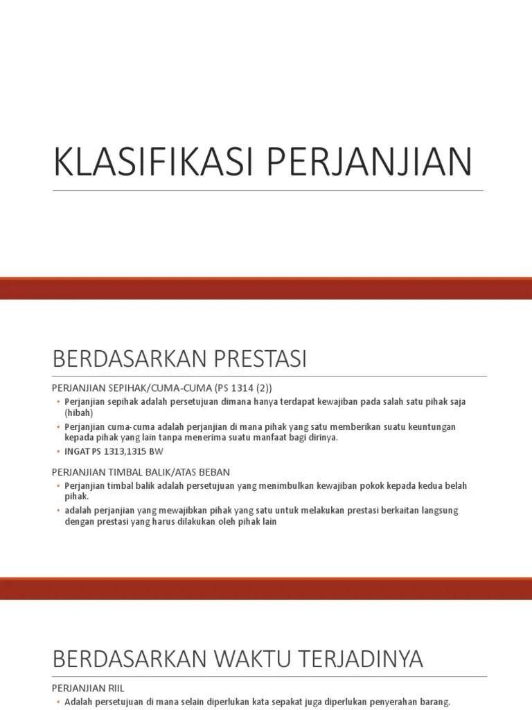 Klasifikasi Perjanjian Internasional : klasifikasi, perjanjian, internasional, KLASIFIKASI, PERJANJIAN