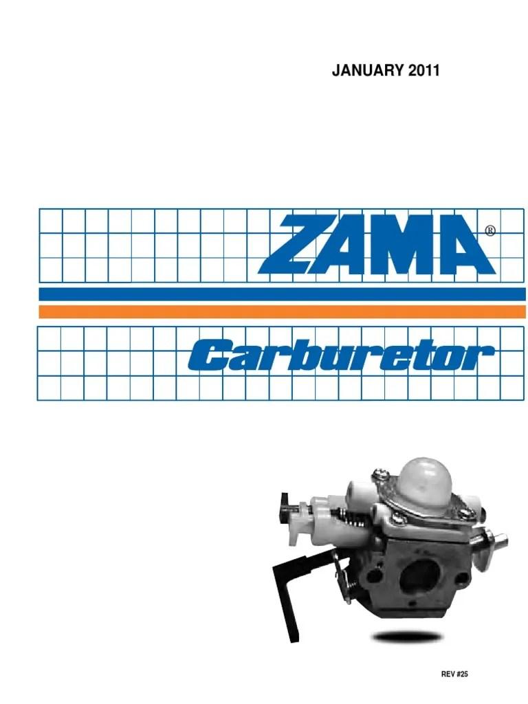 medium resolution of zama c1q carburetor diagram