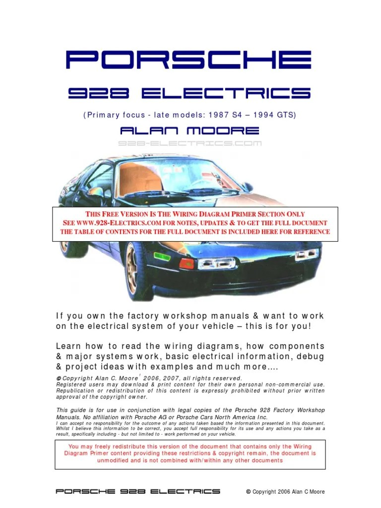 medium resolution of  porsche manual electrico porsche 928 electrical connector electrical resistance and conductance