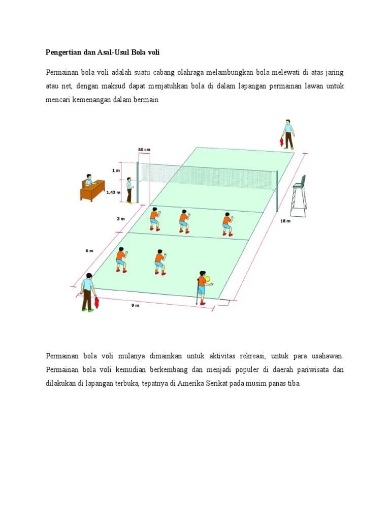 Pengertian Olahraga Bola Voli : pengertian, olahraga, Pengertian
