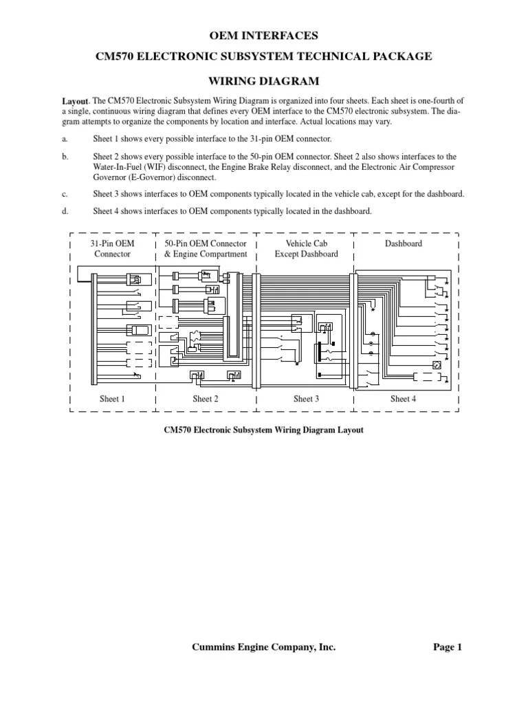 medium resolution of ddec 5 ecm wiring diagram