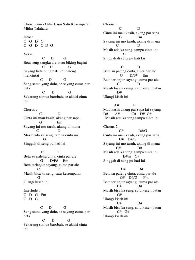 Lirik Se Paleng Bae : lirik, paleng, Lirik, Ambon, Tuhan, Arsia