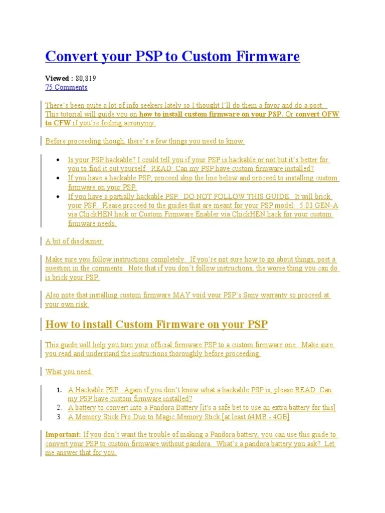 medium resolution of img img recovery menu array psp cfw instructions system software software rh scribd