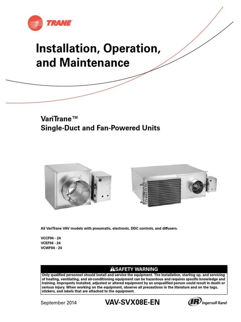 medium resolution of varitrane vav air valve wiring diagram wiring library fan coil unit diagram varitrane vav air valve wiring diagram