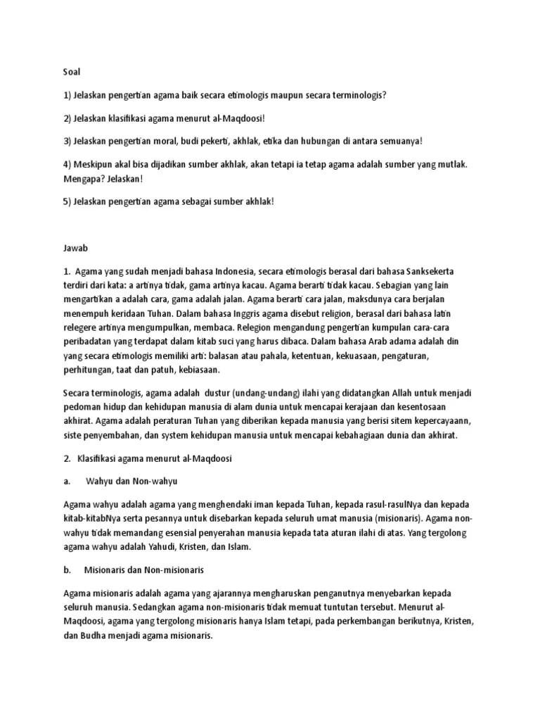DISKUSI 5 Pendidikan Agama Islam 22 - Scribd