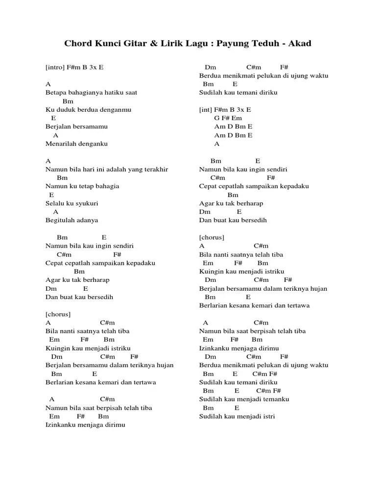Kunci Gitar Berpisah Di Ujung Jalan : kunci, gitar, berpisah, ujung, jalan, Chord, Kunci, Gitar