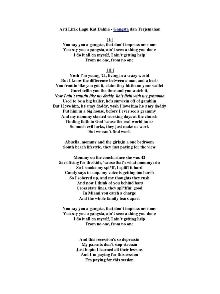 Lirik Lagu You Are The Reason Beserta Artinya : lirik, reason, beserta, artinya, Lirik, Gangsta