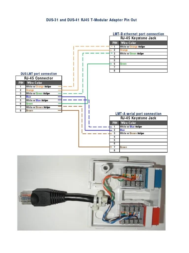 medium resolution of adaptadordus4101 pdf electrical connector telecommunications equipment