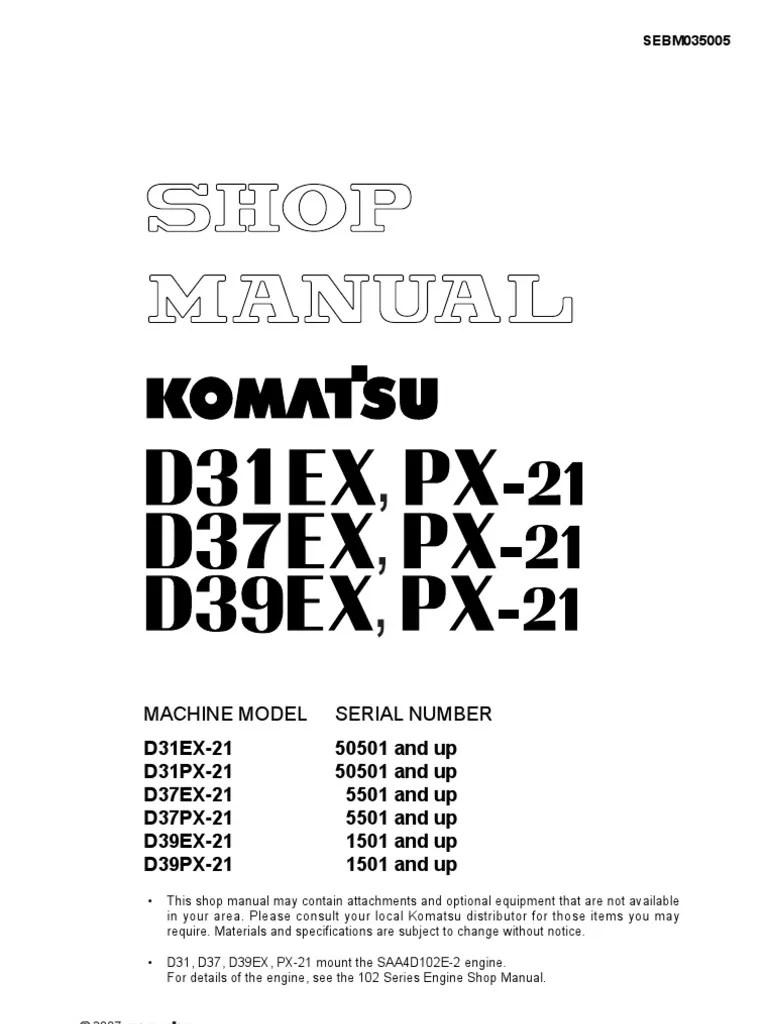 komatsu d31p wiring diagram [ 768 x 1024 Pixel ]