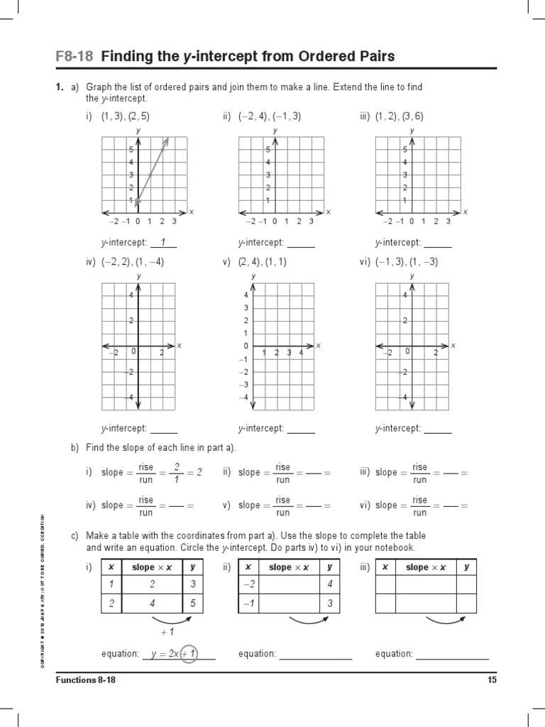 JUMP Math CC AP Book 8-2 Sample F8-18 to 22   Line (Geometry)   Speed [ 1024 x 768 Pixel ]