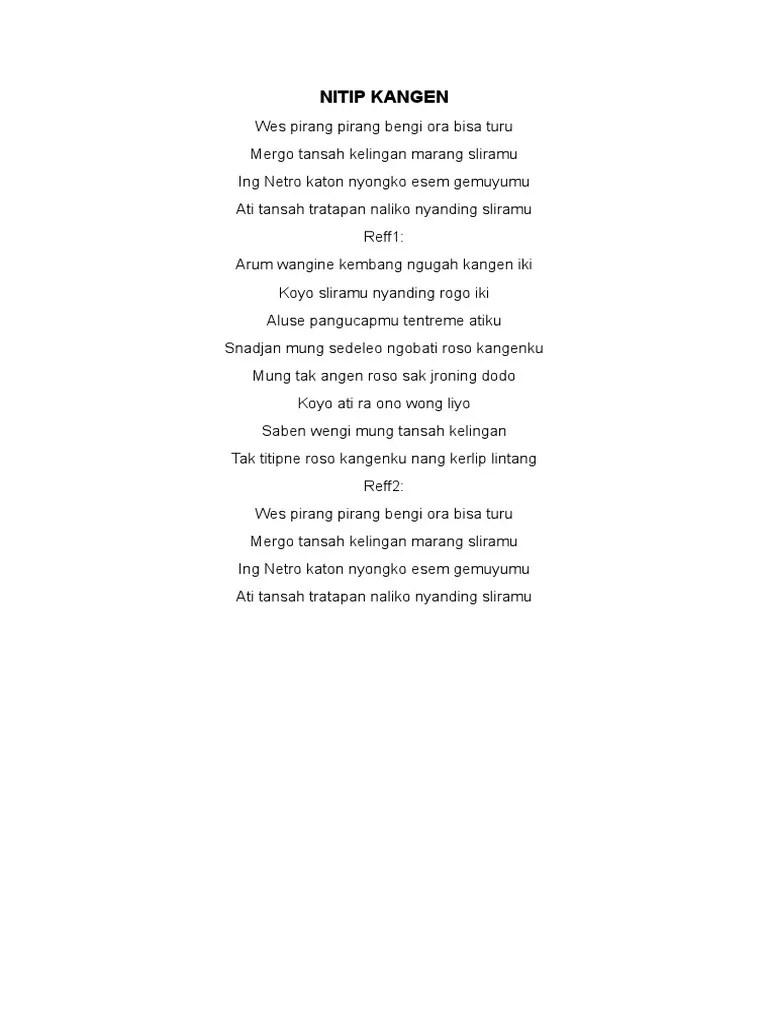 Nitip Kangen Chord : nitip, kangen, chord, Lirik, Nitip, Kangen