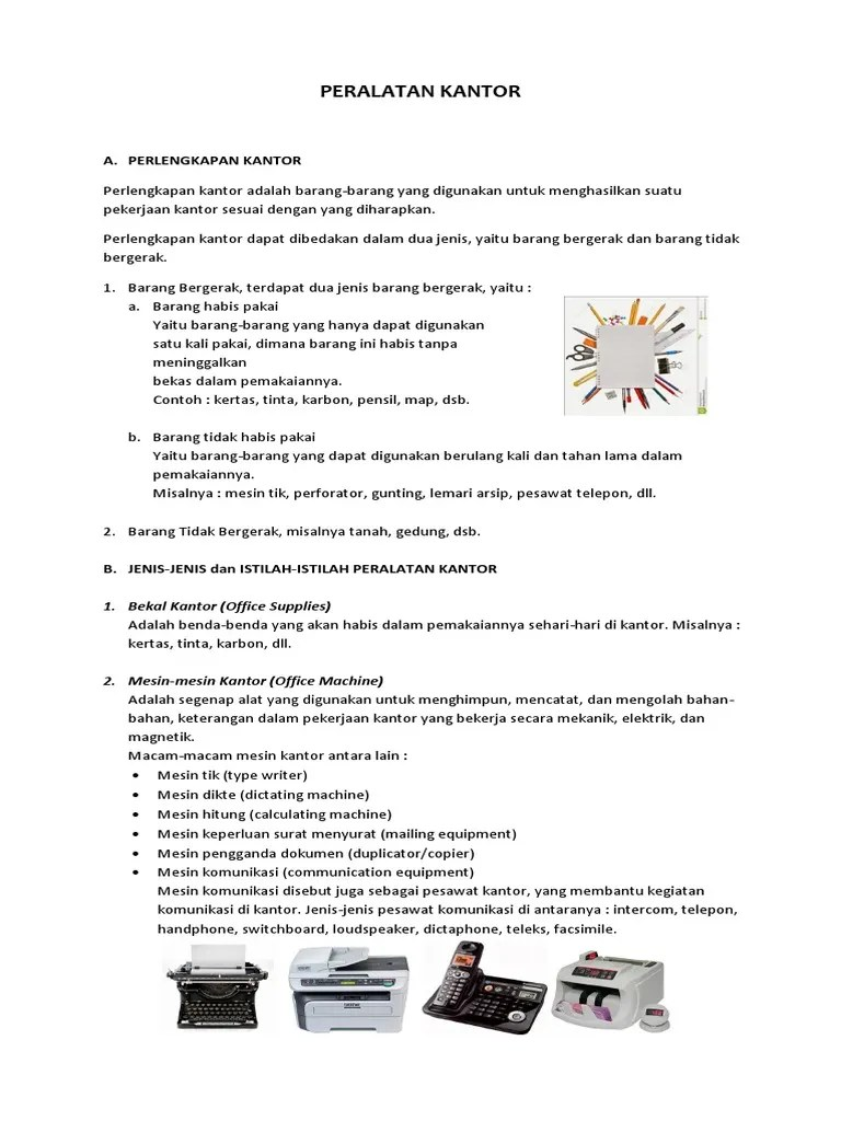 Peralatan Kantor Yang Habis Pakai : peralatan, kantor, habis, pakai, 2-Peralatan, Kantor, Ruang, Kantor-20140511.docx