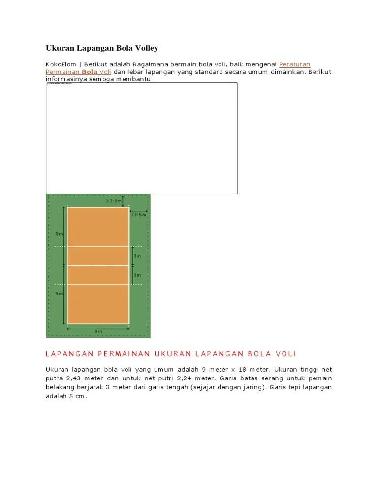 Tinggi Net Permainan Bola Voli Untuk Putra Adalah : tinggi, permainan, untuk, putra, adalah, Ukuran, Putra, Kumpulan, Materi, Pelajaran, Contoh