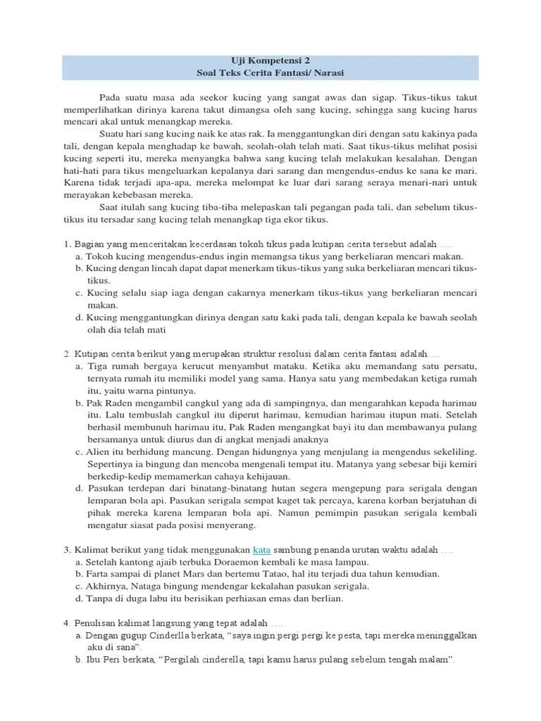 Soal Ulangan Harian Bahasa Indonesia Kelas 7 Semester 2 : ulangan, harian, bahasa, indonesia, kelas, semester, Ulangan, Harian, Indonesia, Kelas, Revisi