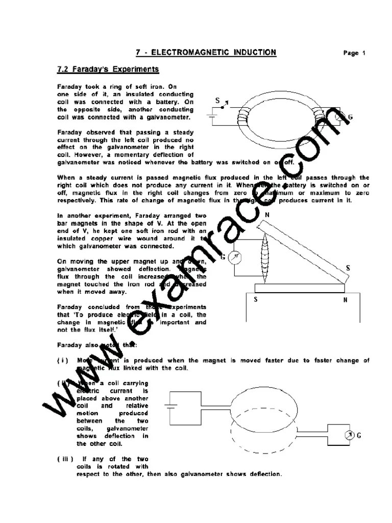 hight resolution of physics electromagnetic induction electromagnetic induction electric current