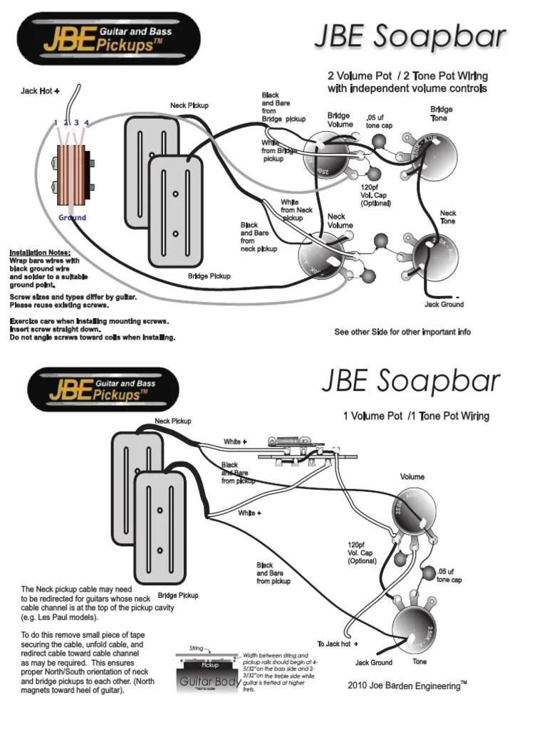 joe barden wiring diagram [ 768 x 1024 Pixel ]