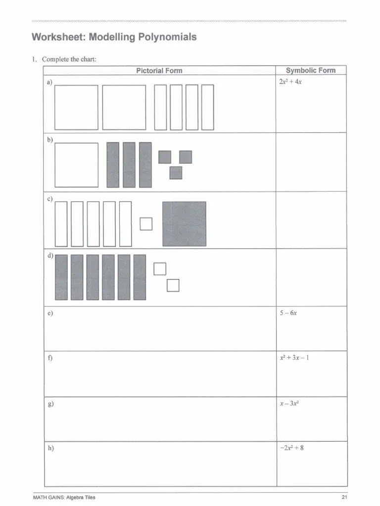 medium resolution of 9 unit 5 1 modelling polynomials worksheet 1