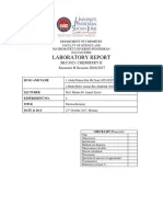 Chemistry Lab Report 1 | Measurement | International System Of Units
