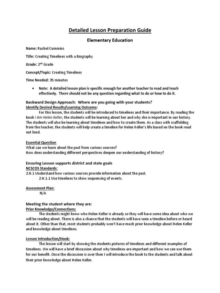 hight resolution of rachel cummins lp4 10-30-17   Lesson Plan   Pedagogy