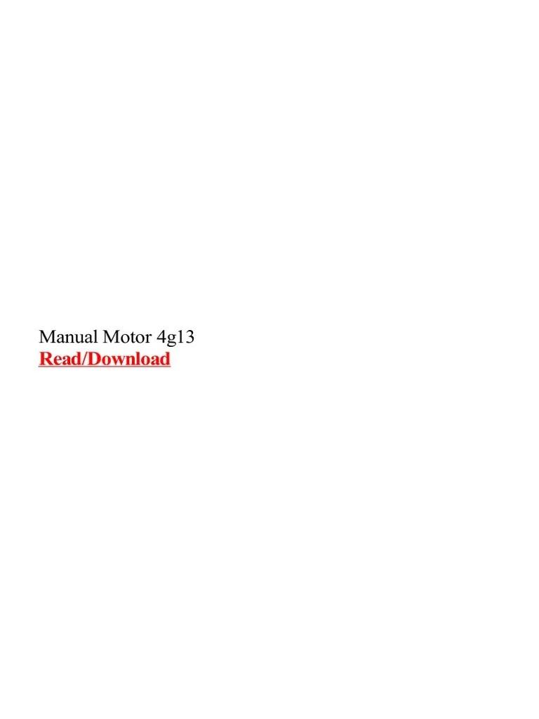 mitsubishi 4g13 wiring diagram [ 768 x 1024 Pixel ]