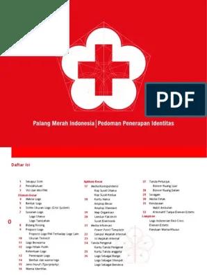 Logo Palang Merah Indonesia Png : palang, merah, indonesia, (Pedoman, Penerapan, Identitas, PMI)-1