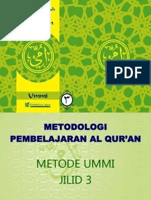 Download Buku Metode Ummi Pdf : download, metode, 03.slide, Jilid, 3.ppt