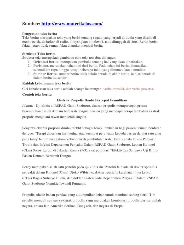Struktur Teks Berita : struktur, berita, Struktur, Berita, Dalam, Bahasa, Inggris, Berbagi