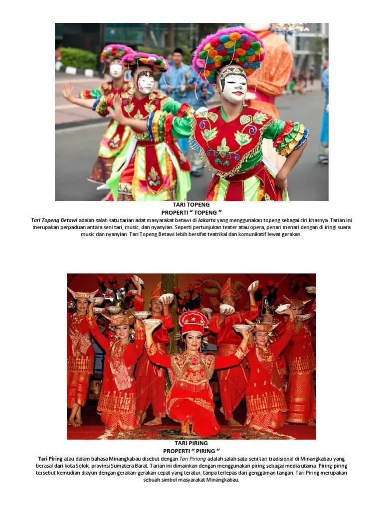 Kostum Dan Properti Tari Piring : kostum, properti, piring, MACAM-mACAM, Tarian