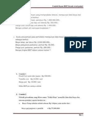 26+ Contoh Soal Bep Dan Jawabannya Pilihan Ganda - Kumpulan...