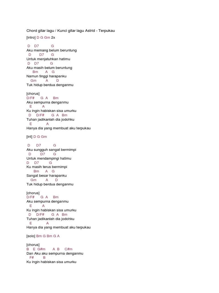 Chord Puisi Alam : chord, puisi, Merah, Jambu, Chord