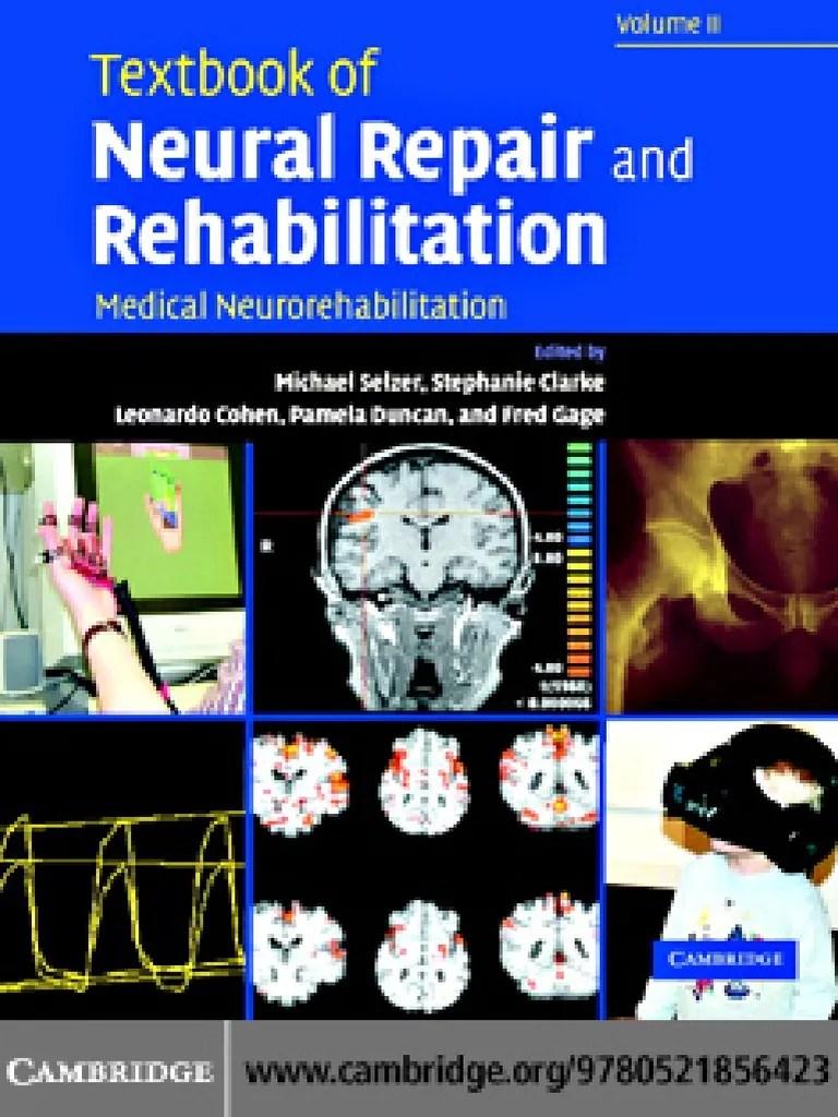 medium resolution of 77275611 textbook of neural repair and rehabilitation medical neurorehabilitation 2006 pdf