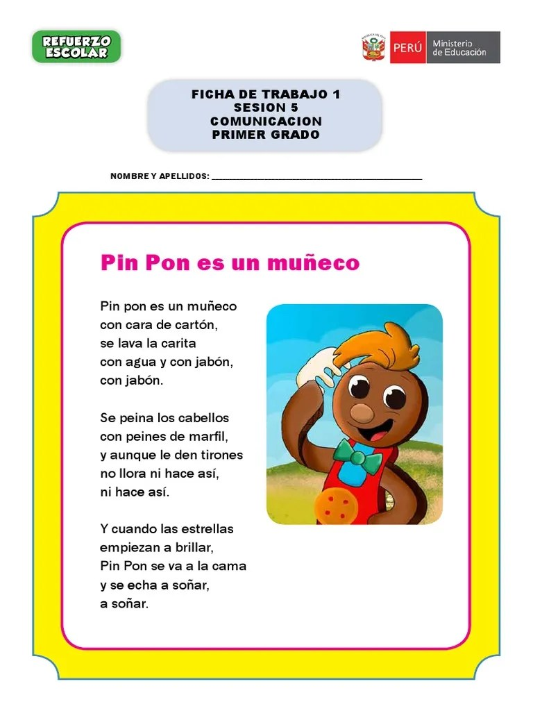 Pin Pon Lyrics : lyrics, Letra