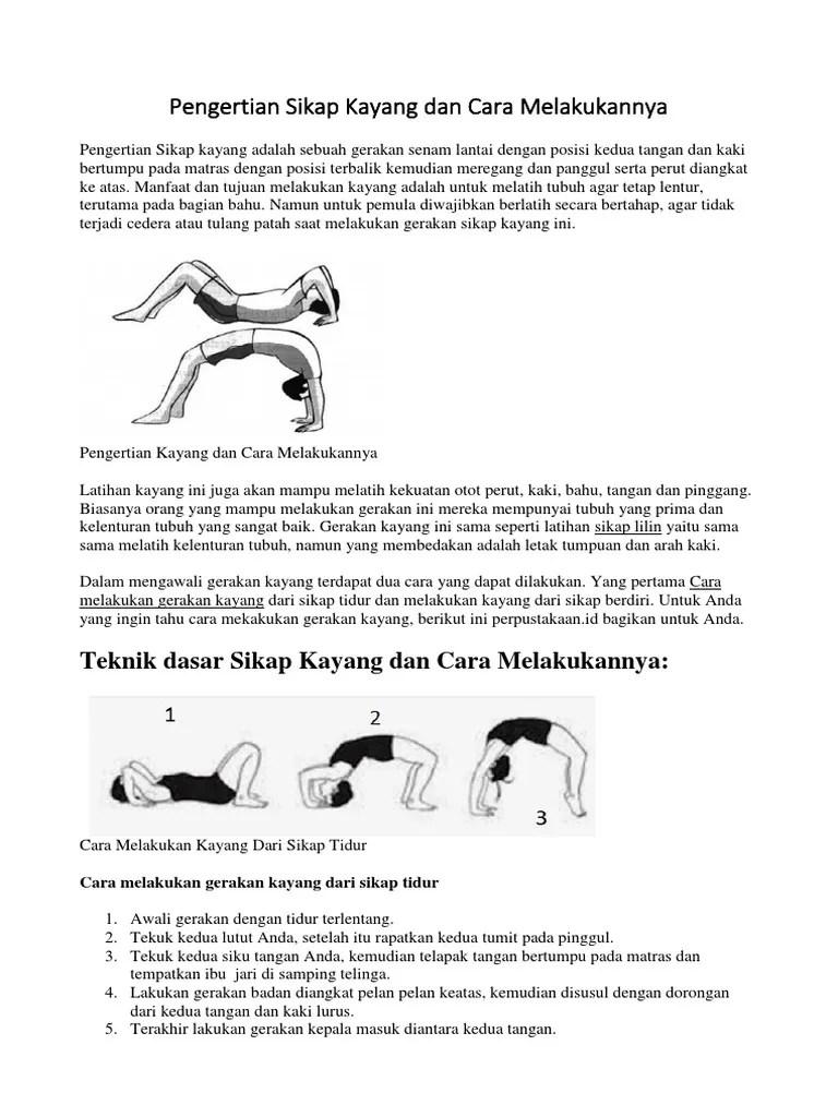 Cara Melatih Kelenturan Tubuh : melatih, kelenturan, tubuh, Pengertian, Sikap, Kayang, Melakukannya, Beserta, Manfaat