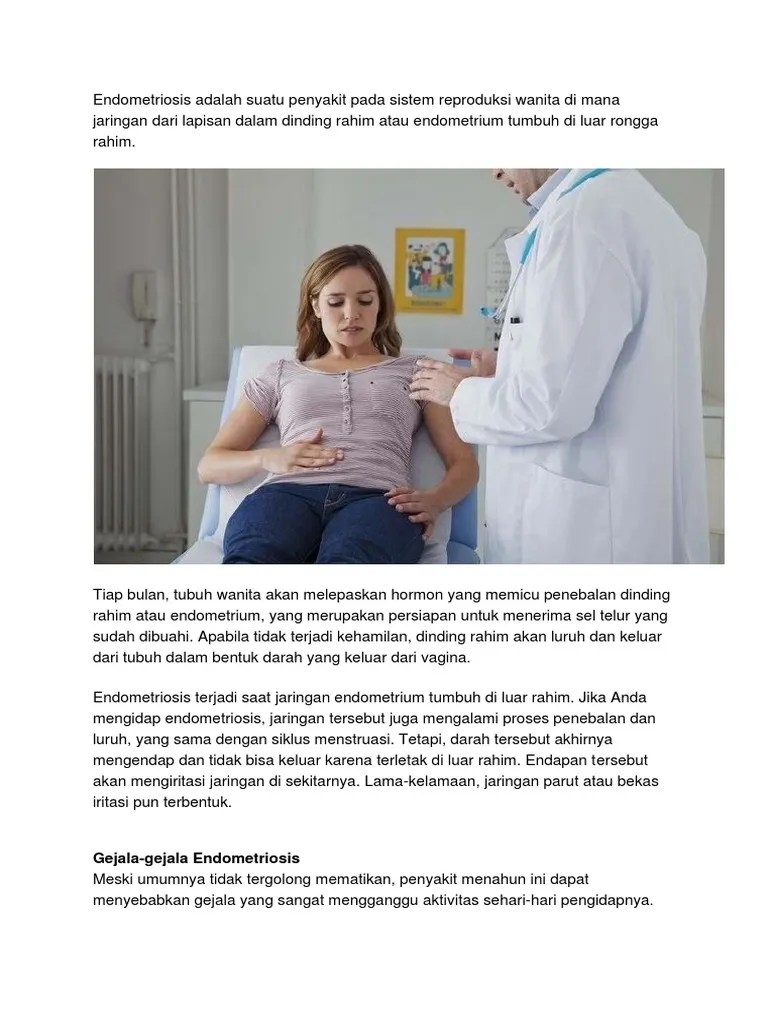 Gejala Penebalan Dinding Rahim : gejala, penebalan, dinding, rahim, Gejala-gejala, Endometriosis