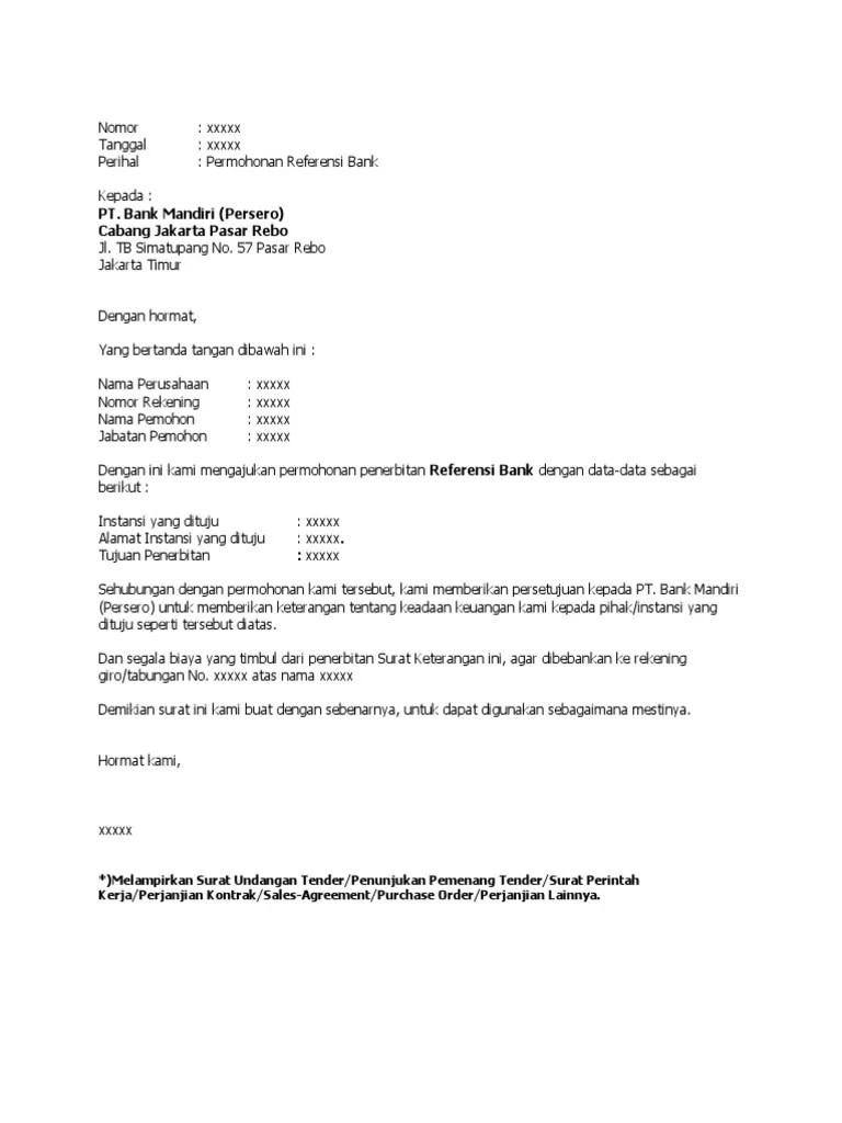 Surat Permohonan Referensi Bank Mandiri : surat, permohonan, referensi, mandiri, Surat, Permohonan, Referensi, Mandiri.docx