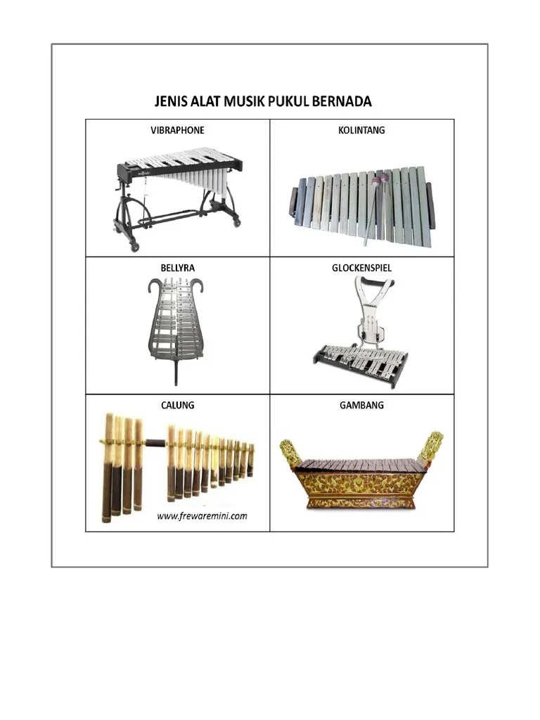 Alat Musik Pukul Tradisional : musik, pukul, tradisional, Musik, Tradisional, Pukul, Indonesia