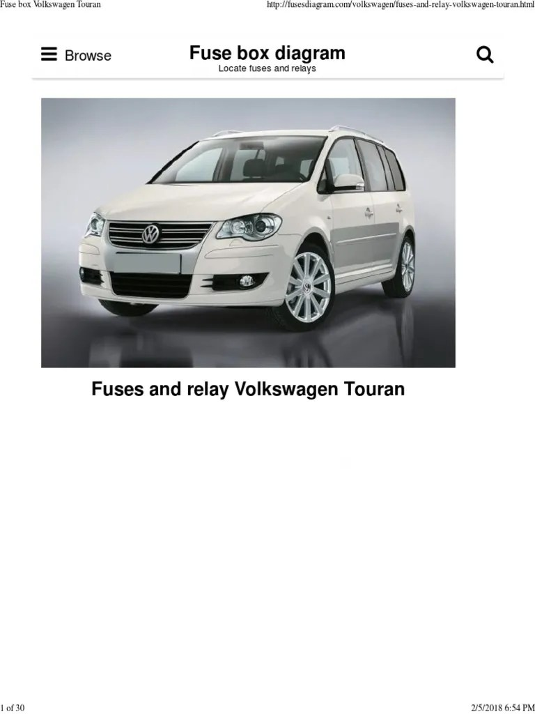 wrg 7170 volkswagen touran fuse box diagram [ 768 x 1024 Pixel ]