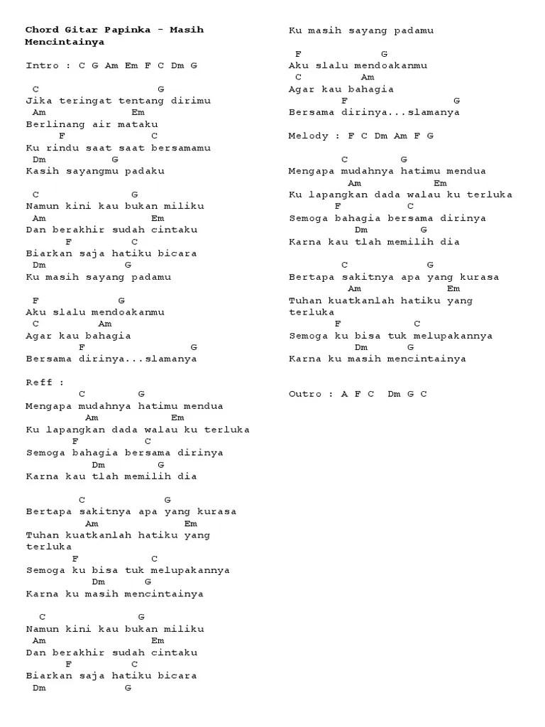 Lirik Lagu Masih Mencintainya Papinka : lirik, masih, mencintainya, papinka, Lirik, Papinka, Masih, Mencintainya